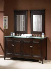 Bathroom Vanities 60 by Adelina 60 Inch Contemporary Double Sink Bathroom Vanity