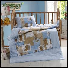 Blue And Brown Crib Bedding by Baby Nursery Foxy Blue Baby Nursery Room Decoration Using Light