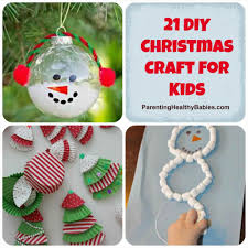 christmas ornaments craft ideas for kids ne wall