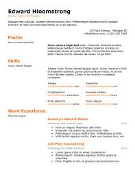 best resume template word 89 best yet free resume templates for word