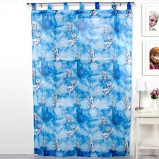 Disney Shower Curtains by Disney Frozen Tab Top Sheer Curtain