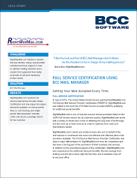 bcc mail manager mailing software for bulk u0026 direct mail