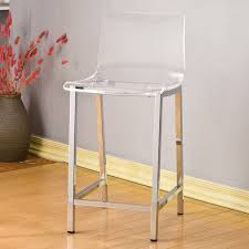 remarkable clear acrylic bar stool with inspire q miles clear