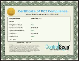 dpd pci compliance and security