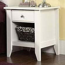 amazon com sauder shoal creek night stand white kitchen u0026 dining
