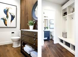 Wood Floor In Powder Room - brushed oak antelope on the street of dreams kentwood floors