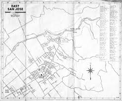 Map San Jose by Old Maps