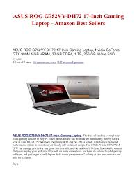amazon 125 laptop black friday asus rog g752 vy dh72 17 inch gaming laptop amazon best sellers