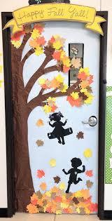 Fall Tree Decorations Tree Door Decorations U0026 Door Decorations Of Crafts For