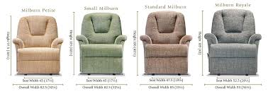 recliner features u0026 options sherborne upholstery