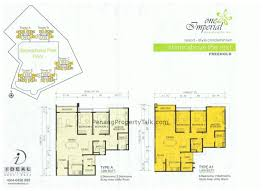 Foresta Floor Plan One Imperial Penang Property Talk
