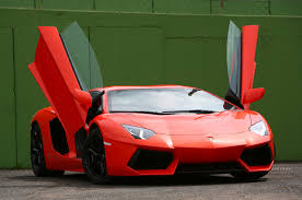 Lamborghini Aventador Convertible - aventador convertible doors u0026 an angular front of a yellow