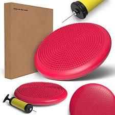 amazon com wailea fitness core balance cushion wiggle seat