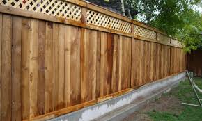 fence backyard fencing awesome garden edging fence wooden