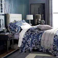 Black Floral Bedding White And Blue Floral Bedding And Other Beautiful Print Design