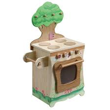 Kids Kitchen Furniture by Amazon Com Teamson Kids Enchanted Forest Wooden Play Kitchen
