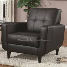 Faux Leather Accent Chair Popular Of Leather Accent Chair Coaster Black Faux Leather Accent