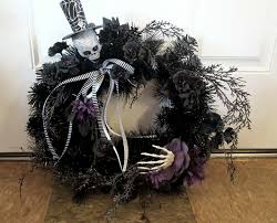Black Halloween Wreath Very Easy Diy Halloween Wreath Youtube