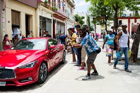 infiniti q60 is the first new us car that entered cuba in 58 years