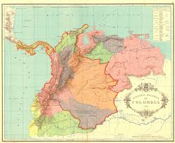 Map Of Columbia South America by Flag Map Of Gran Colombia Maps Of South America Pinterest