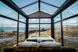 sleep under the northern lights this tiny glass cabin lets you sleep under the northern lights dwell