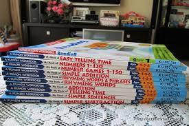 kumon workbooks