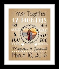 year anniversary gifts for him 10 year anniversary gift for boyfriend husband spouse