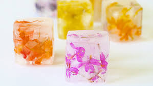 Where To Buy Edible Flowers - how to make edible flower ice cubes tablespoon com