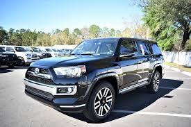 new 2017 toyota 4runner limited sport utility in jacksonville