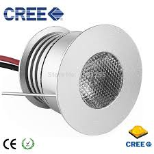 recessed under cabinet led lighting 3w 3v 12v round mini led kitchen under cabinet light lamp led