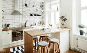 kitchen cool scandinavian kitchen decor also white modern floor