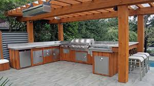 outdoor barbecue ideas outdoor kitchen designs with smoker