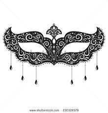 black and white masquerade masks and white masquerade mask clipart