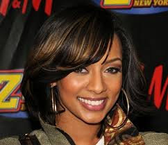 chin length hairstyles for ethnic hair best medium length hairstyles for black women with side bangs