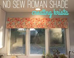 No Sew Roman Shades Instructions - no sew success making a diy roman shade creating krista