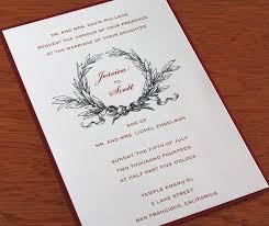 christmas wedding invitations a jolly christmas wedding letterpress wedding invitation