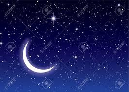 arriere plan du bureau nuits ciel avec le bureau lune et les étoiles idéal ou d arrière