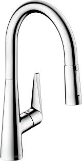 hansgrohe talis kitchen faucet hansgrohe 72813 talis s kitchen faucet qualitybath