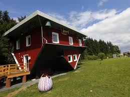 there u0027s a house in germany that was built upside down business