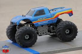 bigfoot 4 monster truck bigfoot racer u2013 pro modified trigger king rc u2013 radio controlled