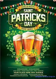 70 best st patrick u0027s day flyer print templates 2017 frip in