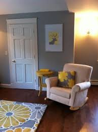 this tween bedroom uses todays gray and yellow palette with