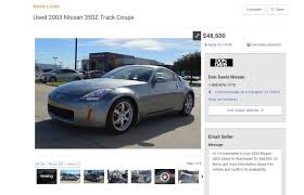 nissan 350z price new first nissan 350z ever built up for sale with 200 miles on the