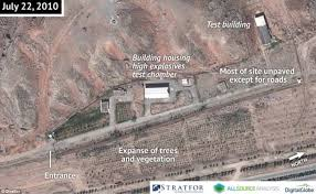 tehran satellite map images of iranian base may prove tehran was carrying out