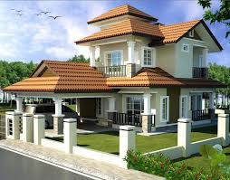 Luxury Bungalow Designs - double storey bungalow house with plan home design