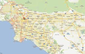 United States Map With Cities And States by Los Angeles California Map