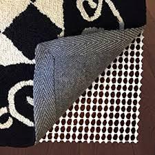 amazon com non slip rug pad 3 x 5 for hardwood floors carpet