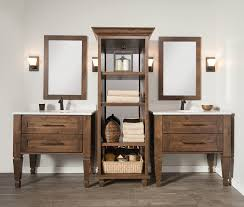 bathroom wall cabinets rectangular wall mirror frameless brown