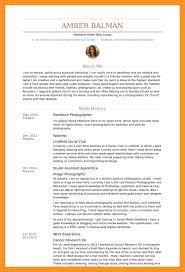 Food Prep Job Description Resume by Photographer Job Description Resume Bio Letter Format