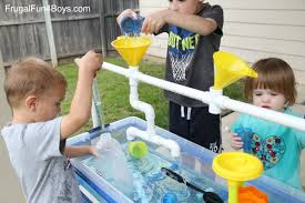 diy sand and water table pvc to make a pvc pipe sand and water table